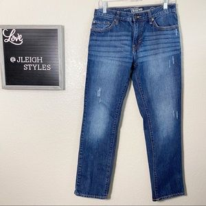 Old Navy Slim Straight Medium Wash Jeans 30x30